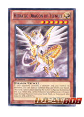 Hieratic Dragon of Tefnuit - SDBE-EN010 - Common - 1st