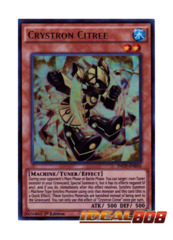 Crystron Citree - INOV-EN016 - Ultra Rare - 1st Edition