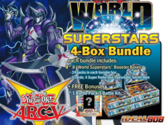 World Superstars Bundle (B) - Get x4 World Superstars Booster Boxes plus Free Gift