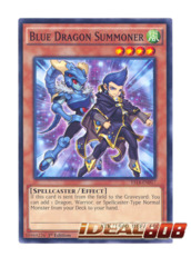 Blue Dragon Summoner - Common - YS14-EN017 (1st Edition)