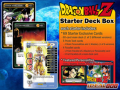 2014 Dragon Ball Z TCG Starter Deck Box (10ct) on Ideal808
