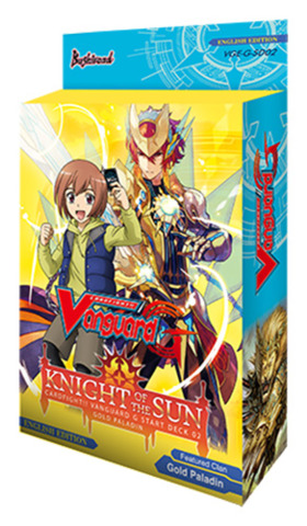 CFV-G-SD02 Knight of the Sun (English) Cardfight Vanguard G-Starter Deck