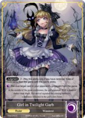 Girl in Twilight Garb // Dark Alice, Maiden of Slaughter [TTW-076 R (Foil Ruler)] English