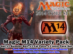 Magic M14 Core Set 2014 Variety Pack - Get x1 DGM Booster Box, x1 DGM Fat Pack, ALL 5 DGM Intro Packs + Bonus * Pre-7/19 on Ideal808