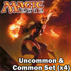 Magic 2012 (M12) Core Set Complete Set of Commons/Uncommons x4