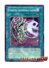 Everliving Underworld Cannon - Common - CSOC-EN060 (1st Edition) on Ideal808