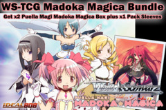 Weiss Schwarz Bundle - Get x2 Madoka Magica Booster Boxes plus x1 Shakuga no Shana V1 Sleeve on Ideal808
