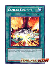 Scarlet Security - EXVC-EN045 - Common - 1st Edition