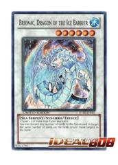 Brionac, Dragon of the Ice Barrier - Super - H5SE-EN001 (Limited Edition) on Ideal808