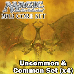 Magic 2013 (M13) Complete Set of Commons/Uncommons x4