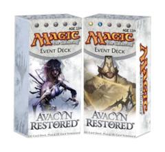 Avacyn Restored Event Decks: Set of Two