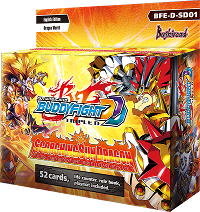 BFE-D-SD01 Scorching Sun Dragon (English) Future Card Buddyfight Starter Deck