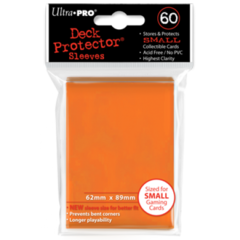Ultra Pro Small Sleeves 60ct. - Orange on Ideal808