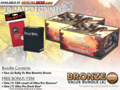 Dragoborne BT01 Bundle (A) - Get x2 Rally to War Booster Boxes + FREE Bonus Items* PRE-ORDER Ships Aug.18