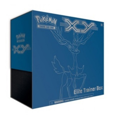 Pokemon TCG XY Elite Trainer Box - Blue - Xerneas
