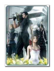 Final Fantasy [Crisis Core FFVII - A] Square Enix Large Sleeve (60ct) on Ideal808