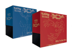 Pokemon TCG XY Elite Trainer Box (Red & Blue) Set on Ideal808