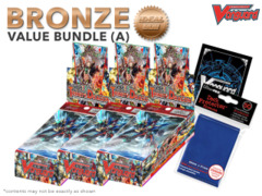 Cardfight Vanguard G-CHB02 Bundle (A) Bronze - Get x3 We Are!!! Trinity Dragon Booster Box + FREE Bonus