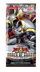 Yugioh Zexal Order of Chaos Booster Pack (JPN) on Ideal808