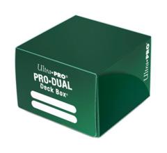 Ultra Pro Dual Deck Box - Green (#82990)