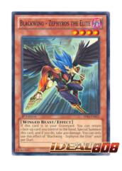 Blackwing - Zephyros the Elite - SDLI-EN022 - Common - 1st Edition