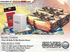 Dragoborne BT01 Bundle (B) - Get x4 Rally to War Booster Boxes + FREE Bonus Items* PRE-ORDER Ships Aug.18