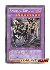 Elemental Hero Chaos Neos [Rainbow Dragon Misprint] - Ghost - GLAS-EN036 (1st Edition) on Ideal808