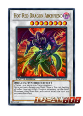Hot Red Dragon Archfiend - Ultra Rare - YF06-EN001 (Limited) on Ideal808