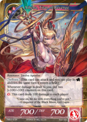 Athena, Titan of Revenge [TMS-018 SR (Full Art)] English