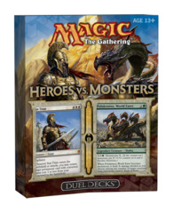 Duel Decks - Heroes vs Monsters on Ideal808