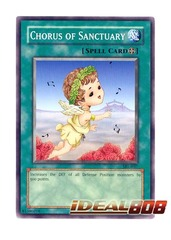 Chorus of Sanctuary - SRL-EN037 - Common - Unlimited Edition