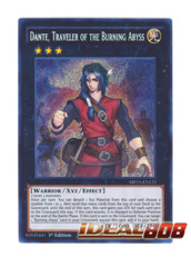 Dante, Traveler of the Burning Abyss - MP15-EN121 - Secret Rare - 1st Edition