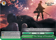 The Wings of Freedom [AOT/S35-E053R RRR (FOIL)] English