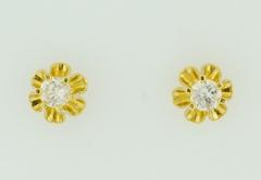 .35ct t.w. Round Brilliant-cut Diamond Studs