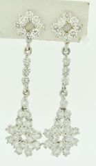 5ct tw Round Brilliant-cut Diamond Earrings