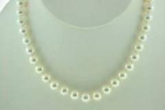 Cultured Pearl Necklace Grade AAA, 18in.