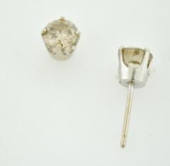 1ct t.w. Round Brilliant-cut Diamond Studs