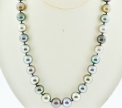 Tahitian Peal Necklace Grade B, 18in.