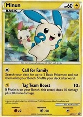 Minun (Unleashed 34) - HGSS17 - Shattered Holo Rare Promo