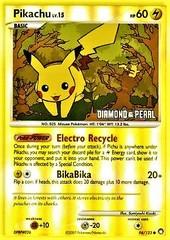Pikachu - 70/100 - BK Promo