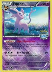 Espeon - 48/108 - Crosshatch Holo National Championships Staff 2012 Promo