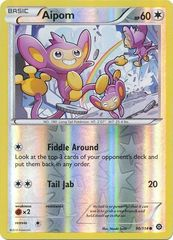 Aipom - 90/114 - Common - Reverse Holo
