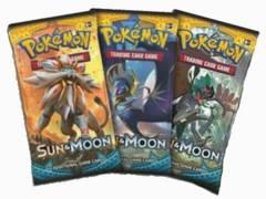 3 x Sun & Moon Booster Packs