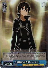 Kirito Putting Self on the Battlefield - SAO/S20-079R - RRR