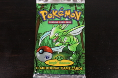 Jungle 1st Edition Scyther Booster Pack
