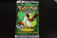 Jungle 1st Edition Flareon Booster Pack