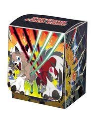 Pokemon Center Lycanroc Deck Box