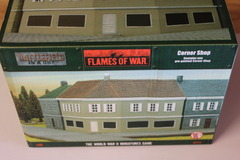 Flames of War: Battlefield in a Box - Corner Shop