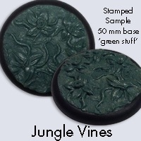 Base Texture Stamps 3x3 Jungle Vines