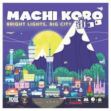 Machi koro Bright lights Big City